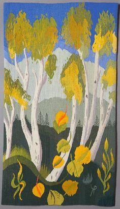 "Tapestry - Katherine Perkins, ""Aspen Vista"" 2005"