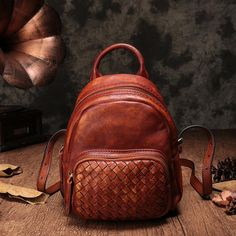 9aec6985be Top Leather Handmade Backpacks For Women