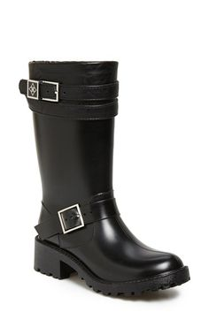 däv Moto Rain Boot (Women) available at #Nordstrom