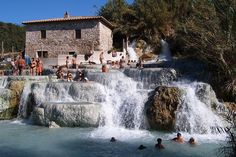 TripBucket - Relax at Saturnia Hot Springs, Tuscany, Italy
