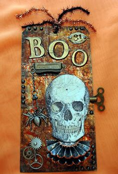 CREATIVITY IS CONTAGIOUS: SEPTEMBER TIM TAG ~ WITH A SPOOKY TWIST