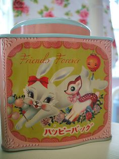 """Dumpling Dynasty Cookie Tin """"Friends Forever"""""""