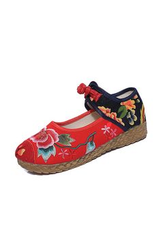 5CM Heel Women's Shoes National Retro Old Peking Mary Jane Canvas Increased Internal Embroidery Soft - Intl | ราคา: ฿786.00 | Brand: Unbranded/Generic | See info: http://www.topsellershoes.com/product/54861/5cm-heel-womens-shoes-national-retro-old-peking-mary-jane-canvas-increased-internal-embroidery-soft-intl