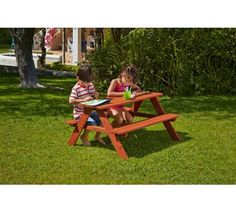 Buy Chad Valley Wooden Picnic Bench at Argos.co.uk, visit Argos.co.uk to shop online for Children's outdoor furniture, Outdoor toys, Toys