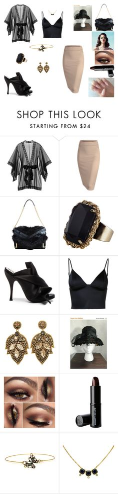 """""""&"""" by ohbabyimrachel ❤ liked on Polyvore featuring Kiki de Montparnasse, Jimmy Choo, Monsoon, N°21, T By Alexander Wang, Christian Dior, Beauty Is Life, Alcozer & J and Monet"""