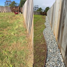 Petscaping, no more digging under the fence #DogFence