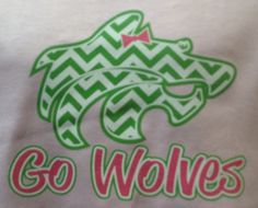 Of course #chevrons are in the #Buford #wolves wardrobe!