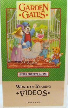 Reading Homeschooling Self Confidence Education VHS Garden Gates Children | eBay