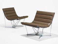Catenary chairs  George Nelson