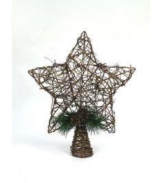 #12Pins product! Love this Vine Star Tree Topper :)