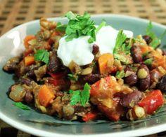Chili sin Carne opskrift - Madkogebogen
