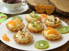 Kremalı Meyveli Tartolet Resimli Tarifi - Yemek Tarifleri