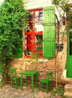 Cunda Adası #green (looks inviting)