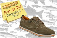 For the dad who loves comfort: Versatile good looks and soothing comfort come in the SKECHERS Relaxed Fit: Diamondback - Pazen shoe. SKECHERS.com
