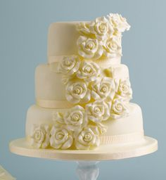 Classic Rose Chocolate Wedding Cake - Marks & Spencer @Sara Eriksson Millward