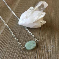 Success  Abundance Amazonite Energy Healing Gemstone Necklace