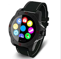 KuWFi Luxury N10 Business Smart Watch Waterproof Smart Watch with Calling Answer and Remote camera hand free bluetooth WristWatch functions for IOS&Android for business Man with Gift BOX Black. MTK2502 fully compatible with IOS and Android. support Caller's name and number display, Hand Free ,Answer/ dailing/ hang up. Bluetooth standard 4.0 &Android (Pair with any smartphone running Android 4.3 or higher) + iOS system supported. Watch band: waterproof canvas+leather. Nice deisgn…
