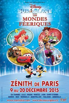 Disney sur glace : Les mondes féeriques