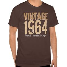 >>>Low Price Guarantee          50th Birthday Gift Best 1964 Vintage Blend V008 Shirts           50th Birthday Gift Best 1964 Vintage Blend V008 Shirts Yes I can say you are on right site we just collected best shopping store that haveReview          50th Birthday Gift Best 1964 Vintage Ble...Cleck See More >>> http://www.zazzle.com/50th_birthday_gift_best_1964_vintage_blend_v008_tshirt-235798601336354415?rf=238627982471231924&zbar=1&tc=terrest