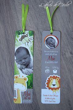 segnalibri   bookmarks  Faire-part Naissance - Marque page Réalisé par L'Atelier de Cécile / latelierdececile.com