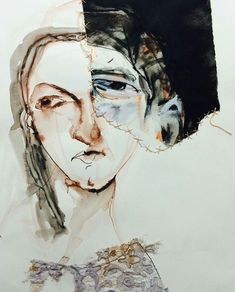 2016 group exhibition at Anthea Polson Art April 2016 Abstract Faces, Abstract Portrait, Portrait Art, Figure Painting, Painting & Drawing, Art Assignments, Art Studio Design, Collage Art Mixed Media, Ap Art