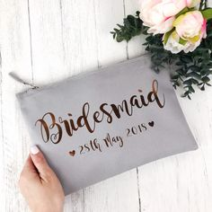 Unique & personalised Bridesmaid Gifts to say thank you on your Wedding Day. From thoughtful jewellery to photo frames, find the perfect present here. Wedding Gift Bags, Wedding Gifts For Bridesmaids, Personalized Bridesmaid Gifts, Brides And Bridesmaids, Home Wedding, On Your Wedding Day, Flower Girl Gifts, Maid Of Honor, Hot Pink