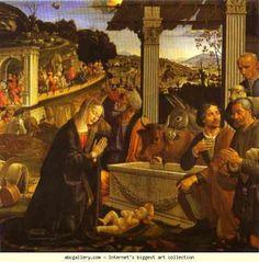 Domenico Ghirlandaio. Adoration of the Shepherds.