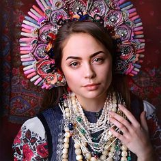 Spectacular Ukrainian Crowns On Slavic Inspired Photoshoot Look Absolutely Mesmerizing Read more at http://designyoutrust.com/2016/07/spectacular-ukrainian-crowns-on-slavic-inspired-photoshoot-look-absolutely-mesmerizing/#fCXjHsWxHE6JukH5.99