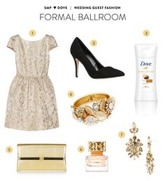What to wear to a formal ballroom wedding: http://www.stylemepretty.com/2014/08/14/wedding-guest-style-inspiration-with-dove/
