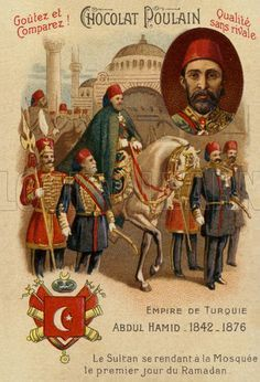 History Discover Abdul Hamid II Sultan of the Ottoman Empire on his way to the mosque on the first day of Ramadan. History Images, Art History, Queen Victoria Family Tree, Turkey History, Ramadan, Turkish Army, World War One, Ottoman Empire, Historical Photos