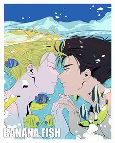 Fanarts Anime, Anime Manga, Anime Guys, Anime Characters, Anime Art, Poster Wall, Poster Prints, Banana Art, Japon Illustration