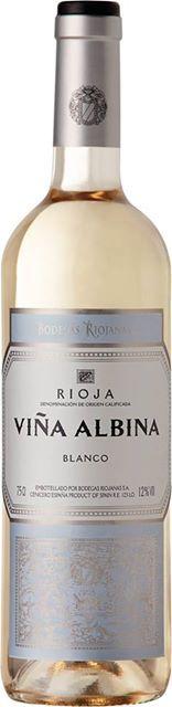 """Bodegas Riojanas presenta un nuevo vino blanco de alta calidad con la marca """"Viña Albina"""". #Rioja #wine"""