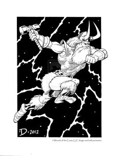 Classic Jeff Dee art from the Edition Dungeons and Dragons book Deities and Demigods. Dungeons And Dragons Books, Advanced Dungeons And Dragons, Fantasy Drawings, Fantasy Artwork, Funky Art, Retro Art, Classic Rpg, Fantasy Sword, Game Props