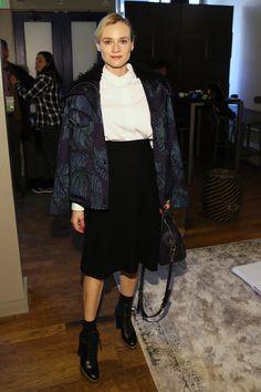Diane Kruger Photos Photos - Diane Kruger at the Nintendo Chalet during the 2014…