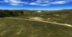 Situado à beira de um penhasco de 600 metros, o aeroporto de Matekane, no Lesoto, tem pista curta e é usado  somente em voos locais