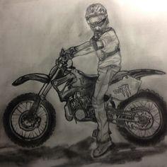 Dirt Bike Drawing