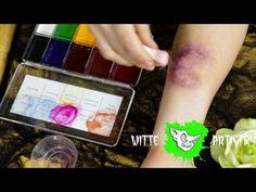 REALISTIC Bruise Halloween Makeup Tutorial - Witte Artistry - Video --> http://www.comics2film.com/realistic-bruise-halloween-makeup-tutorial-witte-artistry/  #Cosplay