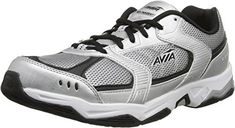 AVIA Mens Tangent Training Shoe Chrome SilverBlack 9 M US ** Continue to the product at the image link. (This is an affiliate link) #ExerciseandFitnessMensFootwear