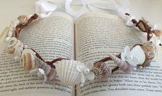 Beach Wedding Hair Crown, Beach Wedding Tiara, Mermaid Crown by LCFloral on Etsy
