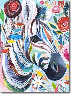 'Z for Zebra' by Starla Michelle Halfmann ♥༺❤༻♥