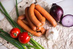 Сосиски сливочные в натуральной оболочке