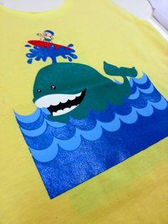Primeiras estampas: surf baleia