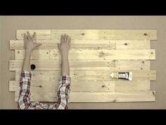 Tutorial: Como hacer tu propio cabezal con madera de palet – Sweetpack