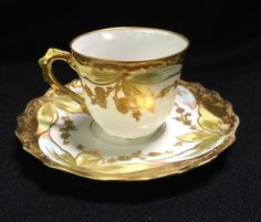 Buy online, view images and see past prices for Limoges France Porcelain Cup & Saucer. Invaluable is the world's largest marketplace for art, antiques, and collectibles.