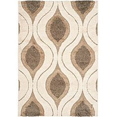 @Overstock - This power-loomed shag rug offers luxurious comfort and unique styling with a raised high-low pile. High-density polypropylene pile features a cream background with smoke accents and provides one of the most plush feels available in a rug.http://www.overstock.com/Home-Garden/Hand-woven-Ultimate-Cream-Smoke-Shag-Rug-53-x-76/5665234/product.html?CID=214117 $139.99