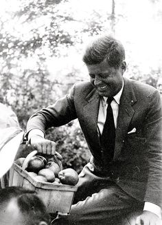 """John Fitzgerald """"Jack"""" Kennedy (May 29, 1917 – November 22, 1963), often referred to by his initials JFK, was the 35th President of the United States, serving from 1961 until his death in 1963.    http://en.wikipedia.org/wiki/John_F._Kennedy"""