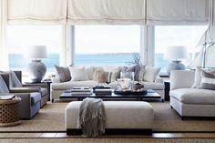 Modern beach house design.