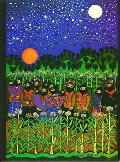 'Oventic', Beatriz Aurora / EZLN, pintura, arte zapatista