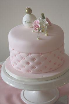 Feminine celebration cake from, Let Them Eat Cakes.