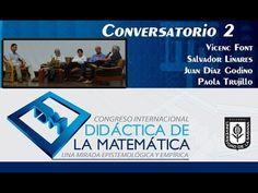 Conversatorio 2. Día 2 Congreso Didáctica de la Matemática.